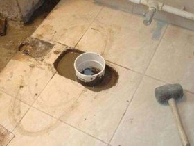 装修建筑垃圾堵塞下水道如何疏通