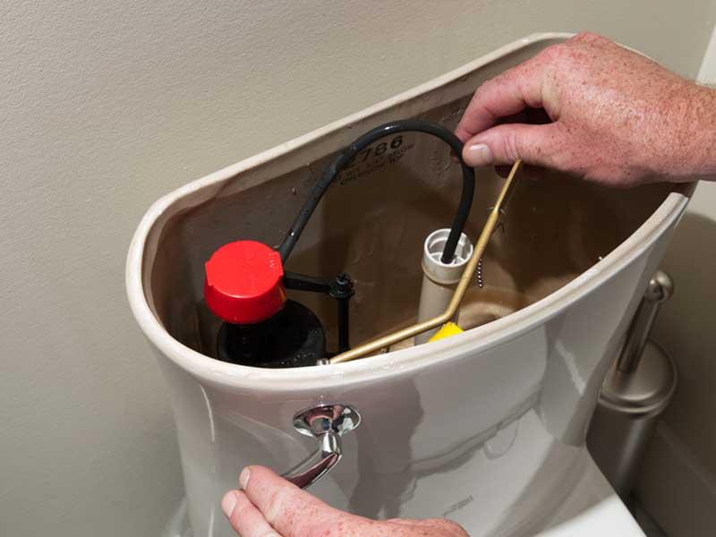 自己维修马桶