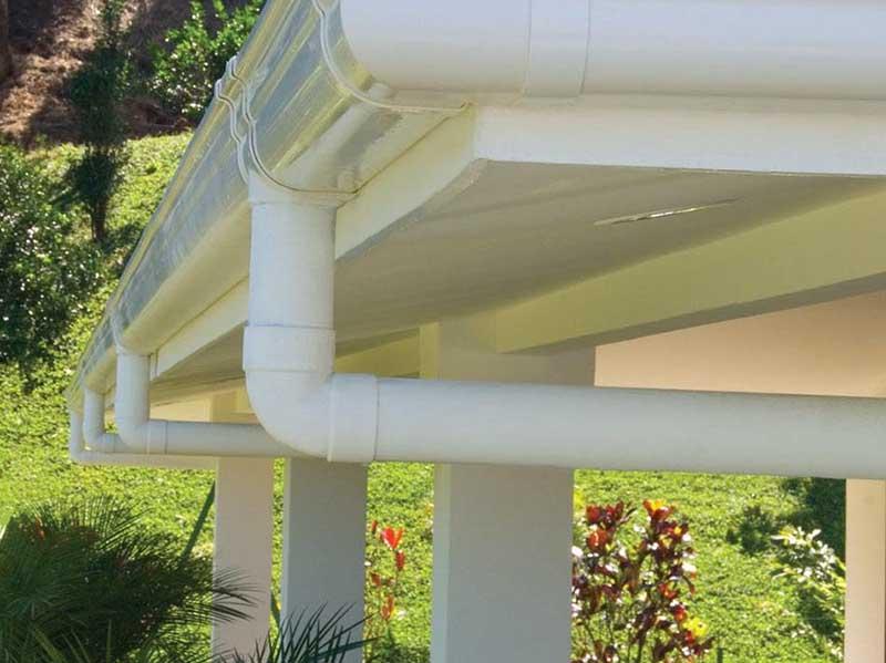 屋面排水管安装